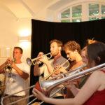 Oskar Maria Graf-Festtage 2017, Marstall Berg, Express Brass Band